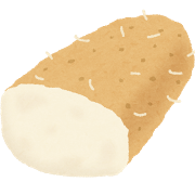頻尿、尿もれには山芋パセリ